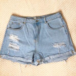 High Rise Pacsun Mom Shorts